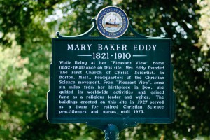 review of Mary Baker Eddy house