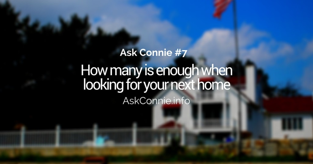 Ask Connie #7