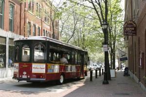 Salem trolley tours