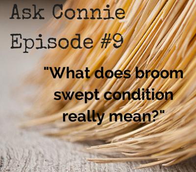 Broom swept condition