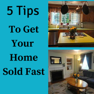 5 Things to get your home sold fast