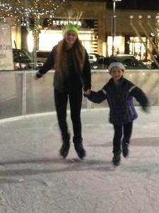 skating at market street