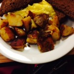 Scrambled Eggs and Home Fries