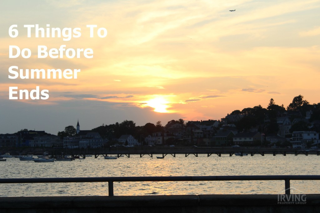 6 things to do before summer ends