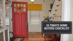 Ultimate Buyers Checklist for a Quick Closing